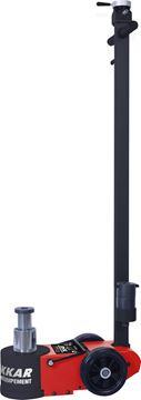 Image de Cric rouleur oléopneumatique FORCE DE TRAVAIL 20/40T Hauteur mini 150mm Hauteur maxi 409mm (avec ral