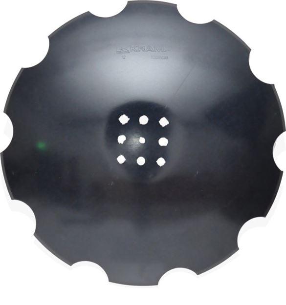Image sur Disque de herse crénelé