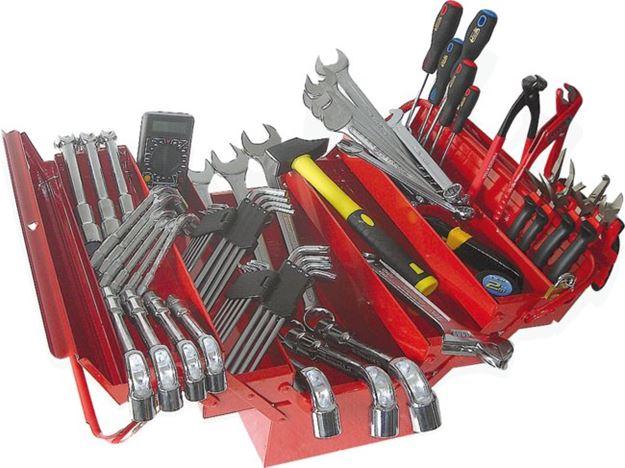 Image sur Composition caisse à outils - 89 pièces